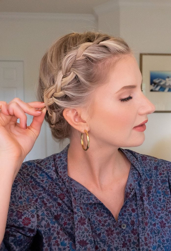 How To Do A Crown Braid?