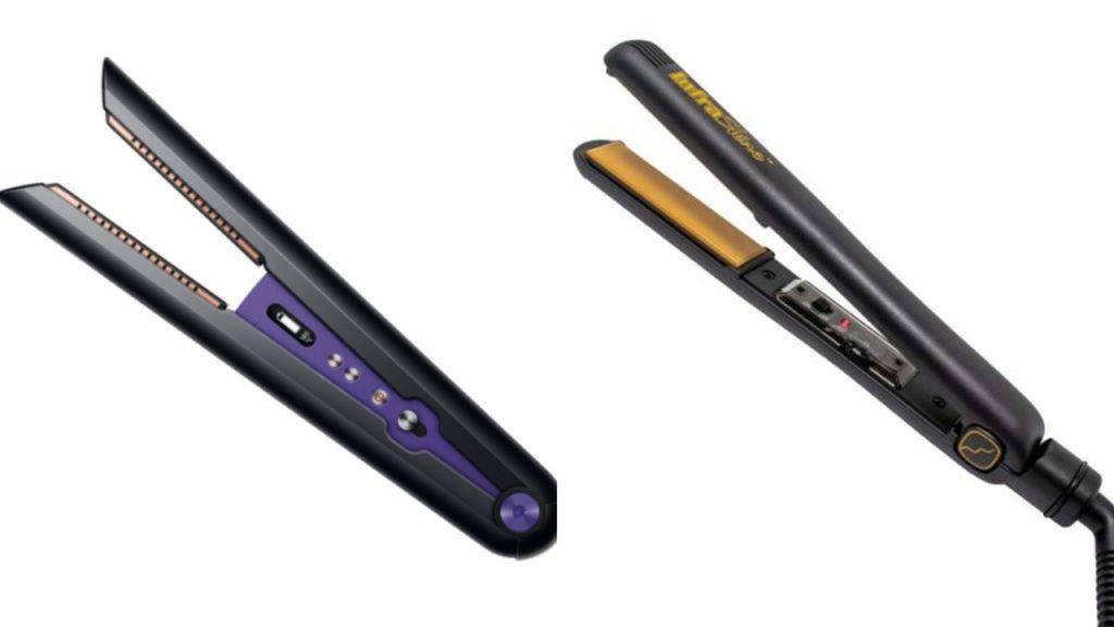 Dyson Corrale VS Infrashine Hair Straightener