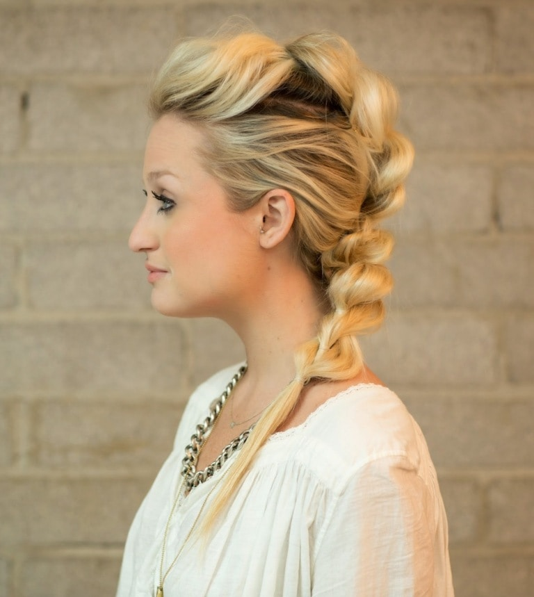 How to Do Mohawk Braid?