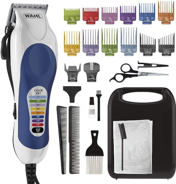 Wahl Corded Clipper Color Pro Complete Hair Cutting Kit