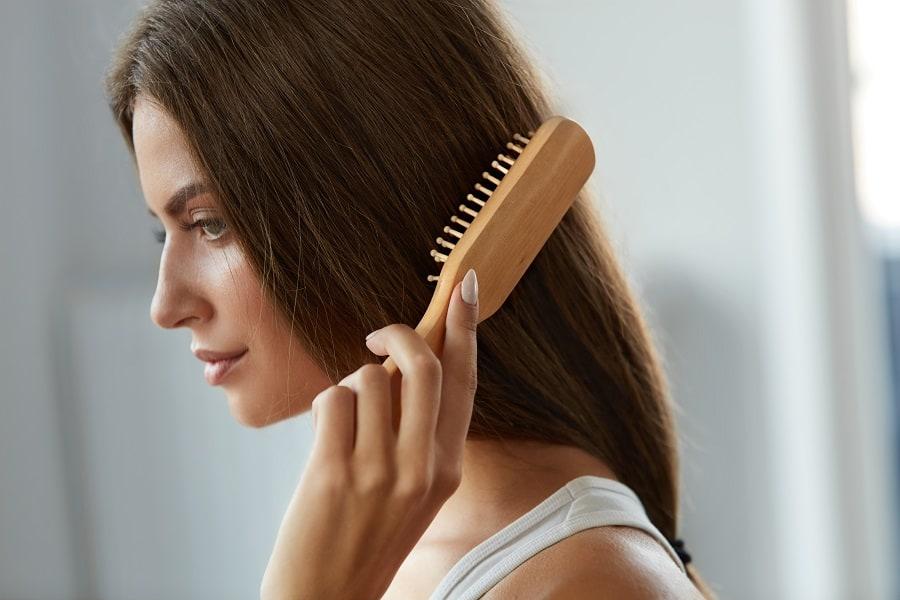 Benefits of wooden hair brush