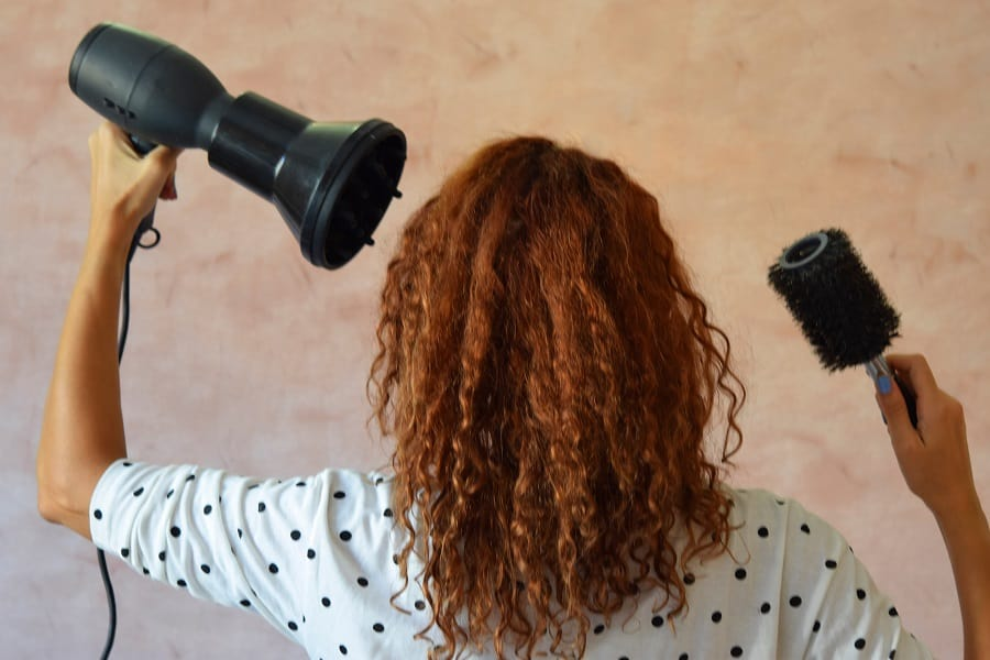Prepare Your Culy Hair for Blow Drying